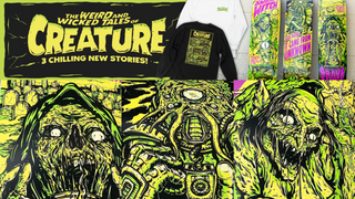 Creature Skateboards Wicked Tales Series