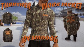 Thrasher Camo Thrift Work Jacket by MADDOG