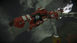 Mining freighter (modifed big red)
