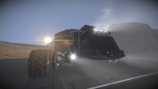 SRI multi crew survival rover