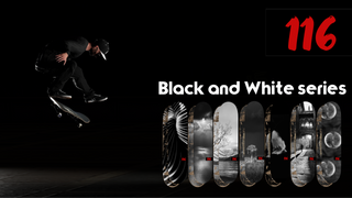 116 Skateboards Black and White board pack