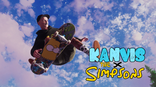Kanvis x The Simpsons Gear Drop