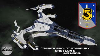 Thunderbolt Starfury (Babylon 5)
