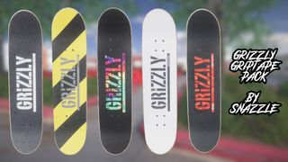 Grizzly Griptape Pack (12 Griptapes)