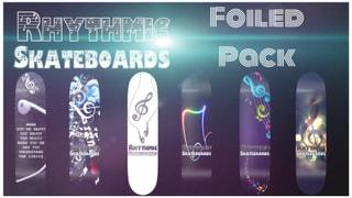 Rhythmic Skateboards Foil Music Pack