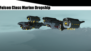 CRN Falcon Class Marine Dropship