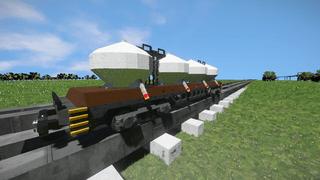 Freight Vagon lime V2
