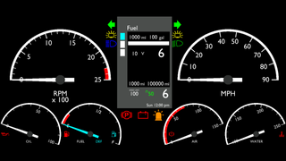 Freightliner Cascadia ATS PC Dashboard