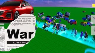 Car war