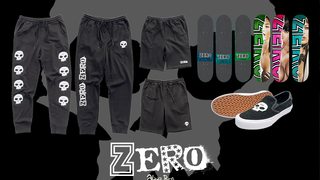 Zero Skateboards Super Models Series Bundle