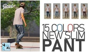 New slim pant - Recolored