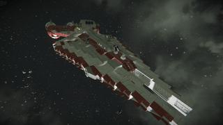 Arquitens Light Cruiser Weaponized V2
