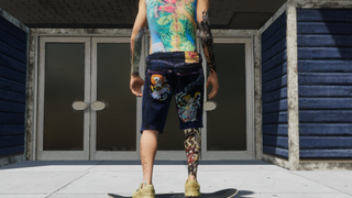 Ed Hardy Denim Shorts