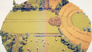 Harvester In A Haystack