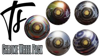 Total Steez Chrome Wheel Pack