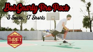 Thrift - Bob Gnarly Pro Pack - 3 Socks, 17 Shorts