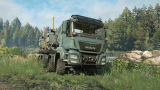 MAN Truck TGS 480 8X8