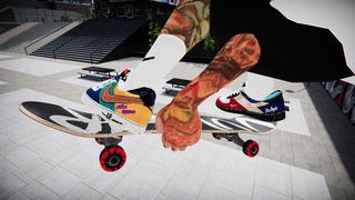 Nike What The LA Virtual Rider Pro Model Shoe