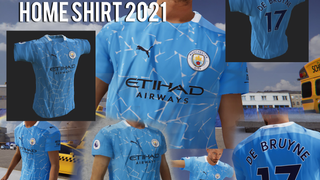 Manchester City Home Shirt 2021 - by MADDOG