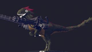 Minigun Raptor