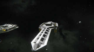 Civilian Custom Cargo Vessal