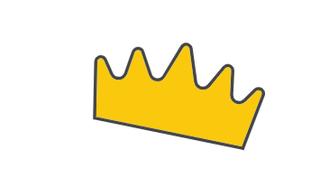 King gold crown