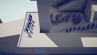 Ancient Faction Simulation Battle