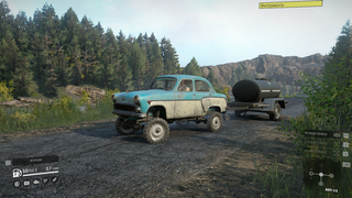 Soviet AWD Sedan 410