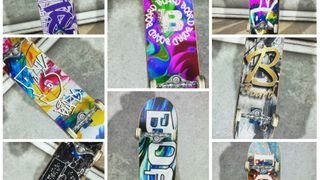 BOARD COLOREDMIX DECK SERIES