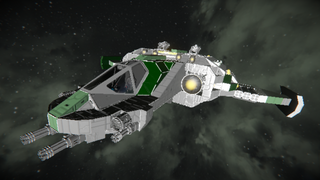 GreenCorp. Talon Gunship