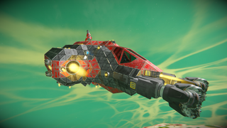 3 man spawn ship - long range miner
