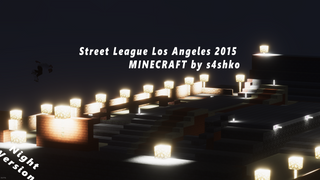 SLS 2015 minecraft by s4shko (night)