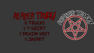 Reaper Trucks Pentagram Drop