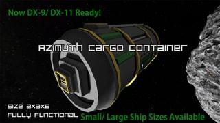 Azimuth Cargo Container
