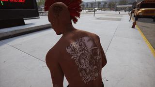 Dark Skin w/Muscles & Head Tats