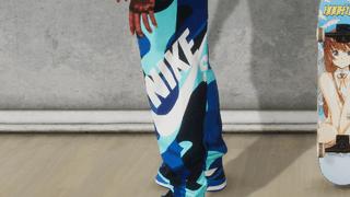 Nike SB Blue camo joggers