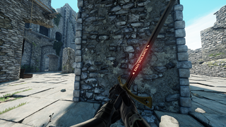 Glowing letters/Thinner blade DeoVolente Longsword