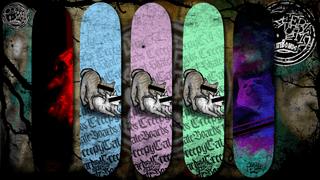 CreepyCat SkateBoards - Cats Drop