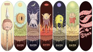 Shox (Custom Art) Deck Drop