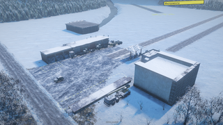 Testing cars on the winter map