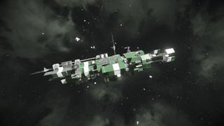 C-14 war ship