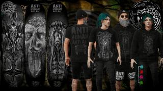 CreepyCat SkateBoards -  Anti Human Anti All