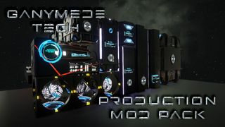 Ganymede Tech - Production Mod Pack