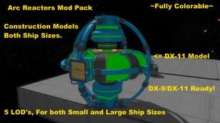 Arc Reactor Pack
