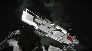 Encounter small cargo vessel