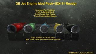 GE Jet Engine Mod Pack