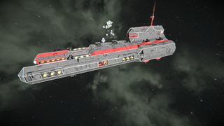 Spatha Class Heavy Frigate