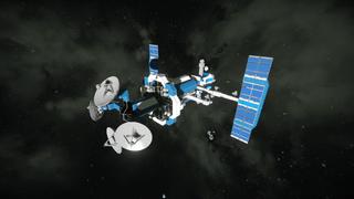 Deep Space Listening Satellite Omega