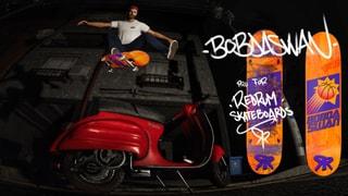 Red Rum Skateboards - Bobdaswan Pro Model Deck