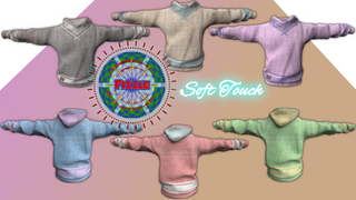The Fizzle Soft Touch Hoodies